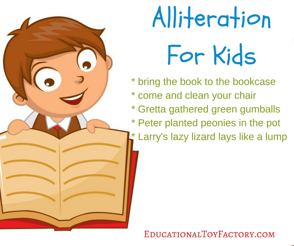 Make Alliteration For Kids Awesome