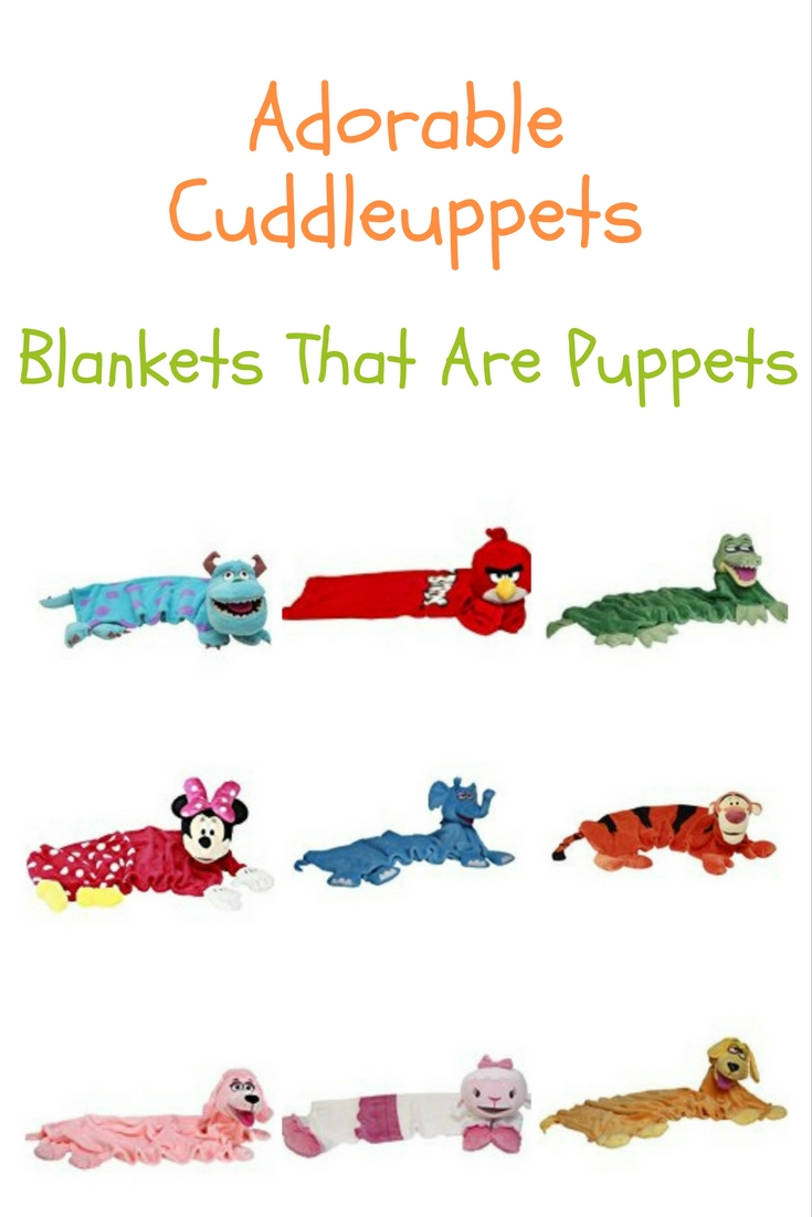 These adorable cuddleuppets are the perfect snuggle up pets for your little one. Perfect to play with, carry in, sleep with and the perfect buddy!