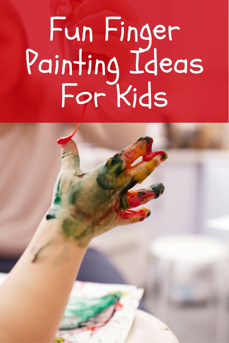 Your children will have loads of fun with these finger painting ideas! Give it a try on a rainy or cold day ;)