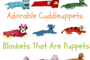 Cuddleuppets as seen on TV - adorable puppets that are blankets :)