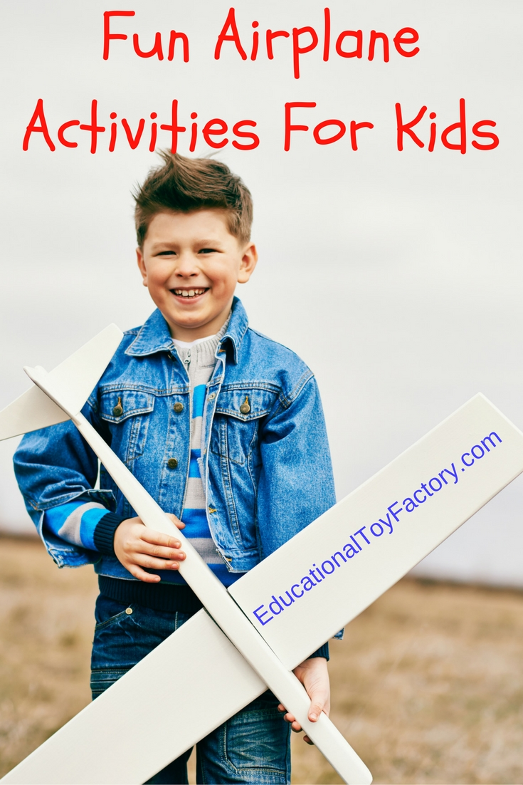 Here's a little bit of airplane history. Teach kids about airplanes with these airplane activities for kids