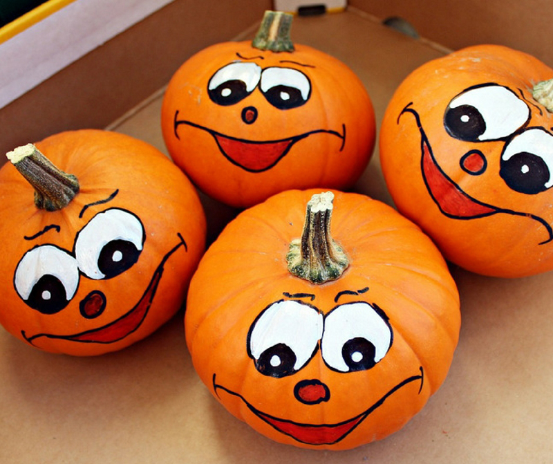 Pumpkin painting ideas for kids educational toy factory Funny pumpkin painting ideas