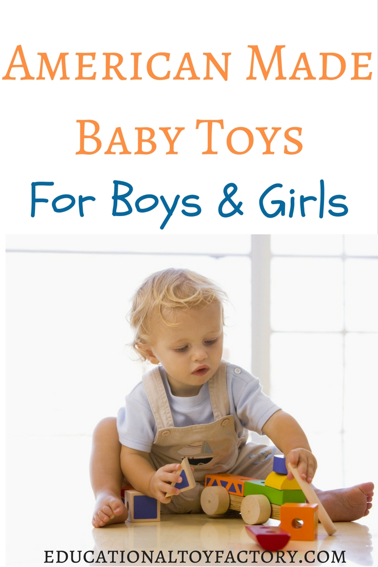 Your baby deserves the best. Here's a list of American made baby toys. Share with your family and friends, so your little one can get the best gifts this Christmas.