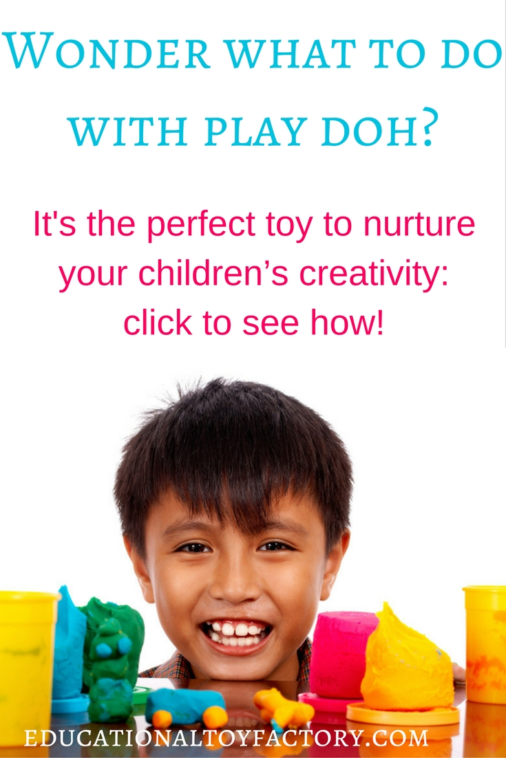 If you ever ask yourself what to do with play doh, here are some great ideas for using it with the whole family ;)
