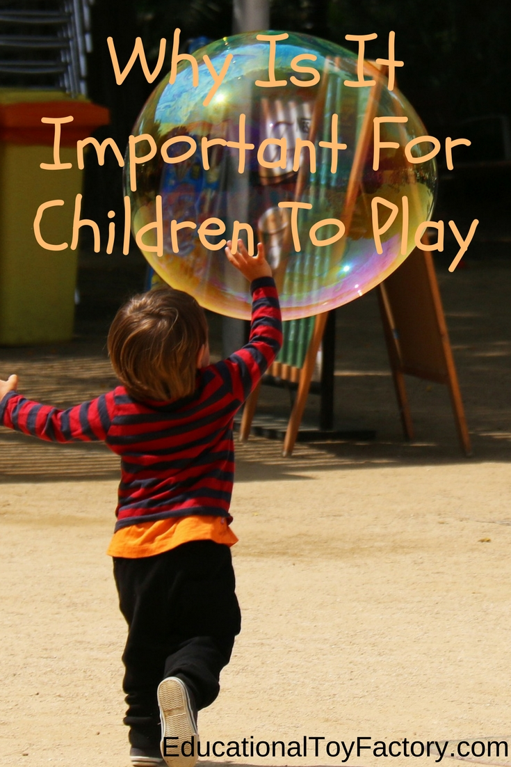 Learn why it's important to encourage children to play