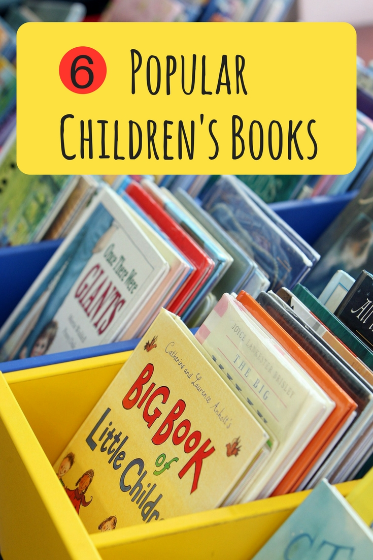 Expand your child's imagination with these 6 popular children's books. Fun and engaging, these are must have for any family with small children.