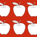 Apple Glyphs For Elementary School