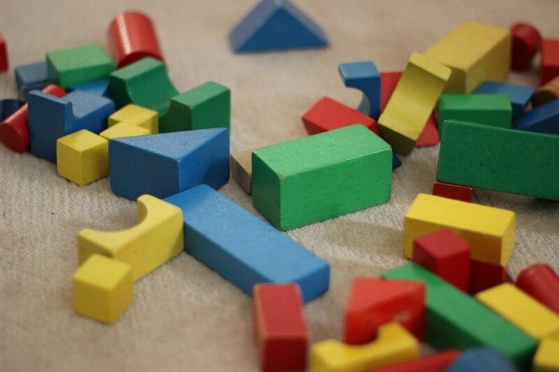 Building blocks make great educational toys for boys