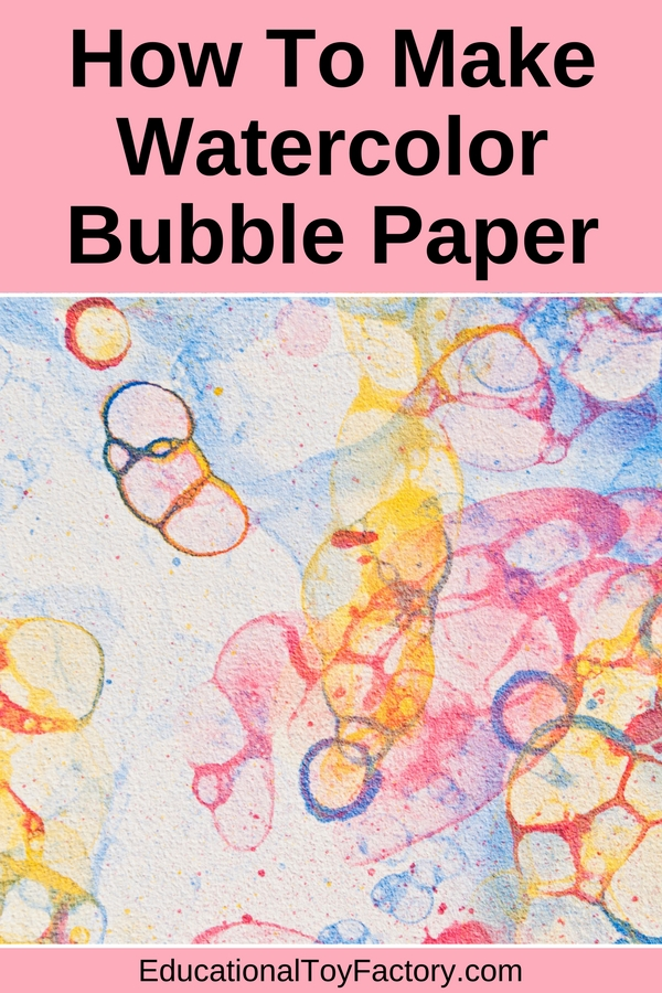 Do you need art project ideas for your kids? This DIY bubble art craft activity will bring lots of fun. All you need is a few things you already have at home: paper, food coloring, a bowl, straw and some bubble solution. Then just watch your children squeal with delight, creating beautiful art.