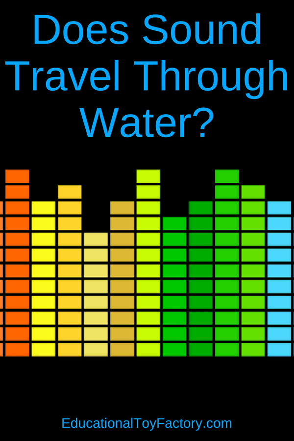 Does Sound Travel Through Water? Teach your about sound waves and sound movement with this fun experiment. Science for kids can be an adventure, and this activity will help explain sound traveling through water.